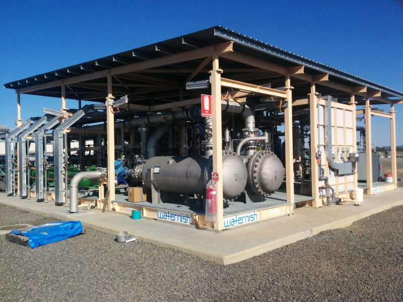 Membrane De-Aeration Water Treatment Facility for Managed Aquifer Recharge